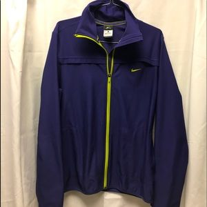 Nike activewear dry fit zip up jacket